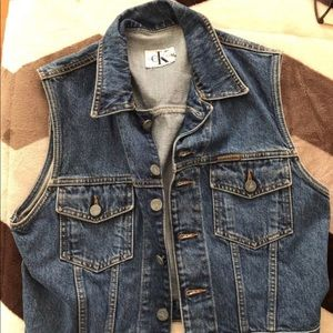 Calvin Klein Jean Vest